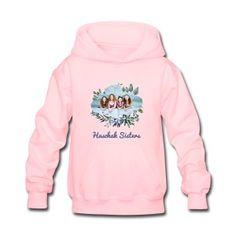 Haschak Sisters Hoodie (Pink 1) - Kids' Hoodie