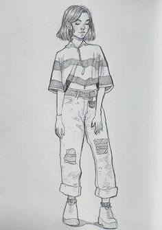 best drawing tips, disney drawings, drawing people of techniques, great examples of various drawings. Girl Drawing Sketches, Art Drawings Sketches Simple, Pencil Art Drawings, Cute Drawings, Drawing Art, Pen Sketch, Girl Sketch, Tumblr Sketches, Drawing Tips
