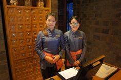 Reception area at the Grand Hyatt, Lijiang Lijiang, Grand Hyatt, Reception Areas