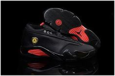 72935e9a7aad Air Jordan 14 Retro Low Black Leather Gym Red For Sale from Reliable Big  Discount! Air Jordan 14 Retro Low Black Leather Gym Red For Sale suppliers.
