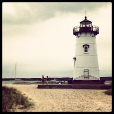 One of the beautiful lighthouses on Martha's Vineyard