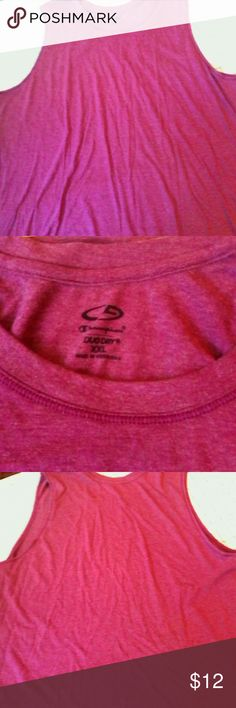 SALE Champion Duo Dry Purple Tank Top XXL Sport This is a tank top by Champion in a size XXL Rayon polyester fabric Style says Duo Dry Scoop neckline, deep armholes A deep red purple in color In excellent used condition Champion Tops Tank Tops