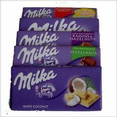 Milka Chocolate Alpine Strawberry Hazelnuts