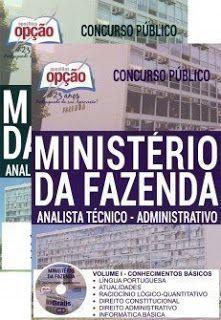 Apostila Ministerio Da Fazenda 2019 Gratis Contendo Apostila