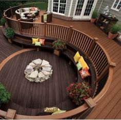 Love this deck. Very different from traditional deck designs...