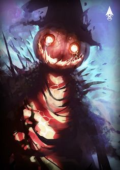 Every day is Halloween Halloween Artwork, Creepy Halloween, Halloween Horror, Creature Concept Art, Creature Design, Arte Horror, Horror Art, Dark Fantasy Art, Fantasy Artwork