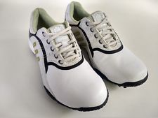 1729c2d0101a Adidas Adiprene Womens Size 8 White Golf Cleats Spikes Shoes $34.99 End  Date: Nov-