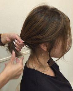 over 50 « Fashion Desinger Cute Hairstyles For Medium Hair, Medium Hair Styles, Short Hair Styles, Hear Style, Fashion Desinger, Hair Arrange, Pixie Styles, Hair Inspo, Short Hair Cuts