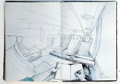 Thomas Cian's sketchbooks are really inspirative.