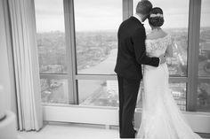 Wedding venue: Rembrandt Tower Boardroom | Photography: Hanna Hachula