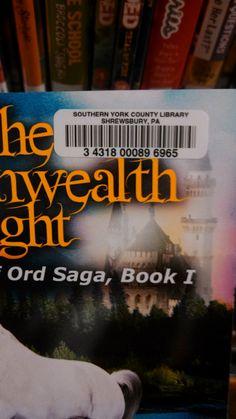 TGL - Shrewsbury Library barcode My Books, Let It Be, School