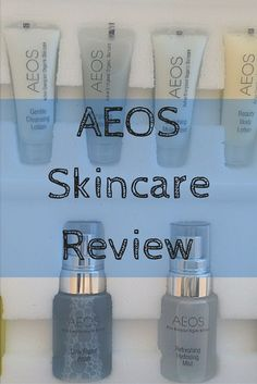 AEOS skincare, a luxury skincare brand asked me to review their essentials kit and here's what I thought...