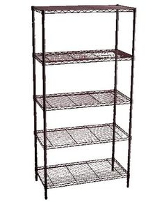 Storage Solutions® 0516B Lg. 5-Tier Shelving by Storage Solutions®. Save 19 Off!. $72.97. Easy, snap together assembly. Durable epoxy coated steel. Increase storage space in minutes. Holds 350lbs per shelf evenly distributed. Adjustable shelves. Storage Solutions® Lg. 5-Tier Shelving. Quick and easy storage solution for home, kitchen, office, garage and dorm.  Durable steel with epoxy coated finish offers contemporary look to a utilitarian item. This item assembles in minut...