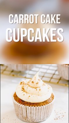 Cupcake recipes 275001120984035959 - Carrot cake cupcakes are moist, flavorful cakes topped with rich cream cheese frosting. Try this dessert recipe for Easter or the holidays. Source by haleydwilliams Easy Cake Recipes, Easy Desserts, Sweet Recipes, Cookie Recipes, Delicious Desserts, Dessert Recipes, Easter Recipes, Carrot Cake Recipes, Unique Cupcake Recipes