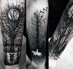 horse-riding-wrist-black-ink-negative-space-tattoo.jpg 600 × 570 bildepunkter