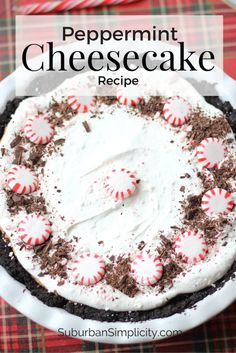 Peppermint Cheesecak