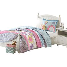 Found it at Wayfair - Crazy Daisy Coverlet Set