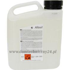 Detergent Allosil 2,5litra. Efektywnie działa na: √ oleje √ smary √ tłuszcze √ zanieczyszczenia ropopochodne (np. zabrudzenia osadzające się w ruchu ulicznym) √ zabrudzenia ogólne