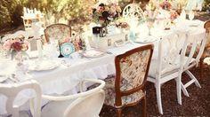 L'infographie qui vous fera succomber au charme d'une décoration de mariage vintage chic