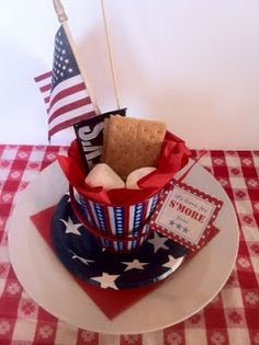 Fourth Of July S'more Basket