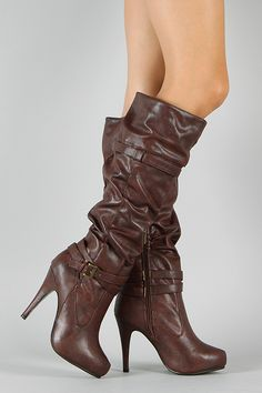 Anne Michelle Captivate-02 Slouchy Knee High Boot $41.20