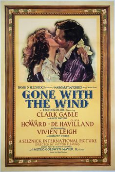 Gone with the Wind starring #ClarkGable and #VivienLeigh 10.10.12 #ScarlettOHara will be back on the big screen! #GoneWithTheWind #ClassicMovies