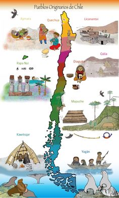 Central America, South America, Latin America, Spanish Lesson Plans, Virtual Field Trips, World Geography, Mesoamerican, Illustrations And Posters, Kids Learning