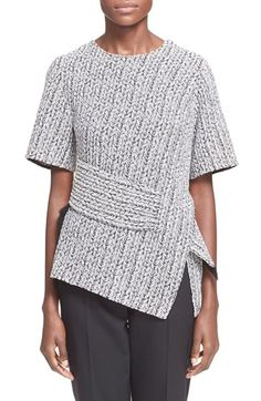3.1 Phillip Lim Short Sleeve Jacquard Top available at #Nordstrom