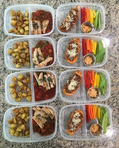 Lunches are prepped!