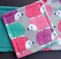 Waterproof Lap Pad Hedgehog Pet Mat Cage Accessories Guinea