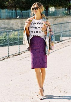 7 Chic Valentine's Day Outfits That Are Anything But Cheesy via @WhoWhatWear