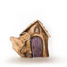 Suess Weird Shapes, Fairy Houses, Deep Purple, Door Handles, Bird, Outdoor Decor, Home Decor, Homemade Home Decor, Decoration Home