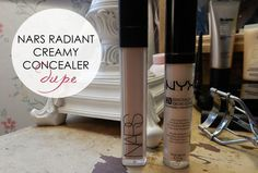 NARS Radiant Creamy Concealer Dupe by NYX