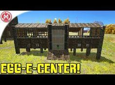 ARK: Survival Evolved - EGG-E-CENTER! (Gameplay) - YouTube