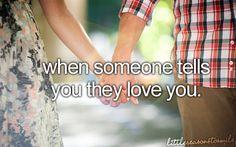 You're my one true love <3 @Devin Pollard <3