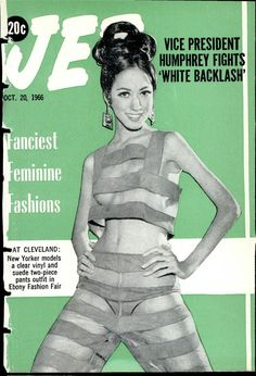 Pat Cleveland, Ebony Fashion Fair, 1966.