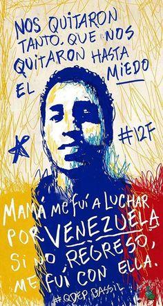 Cartel Dedicado al Joven Bassil Da Costa, Muerto en Venezuela