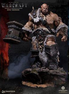Dam Toys - DMLW02 - Epic Series - Warcraft - Orgrim Doomhammer Premium Statue