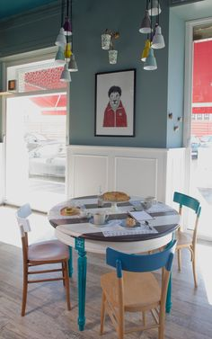 Romeow Cat Bistrot - Via Francesco Negri, 15 Roma - Italy Cool Cafe, Design Bar Restaurant, Cafe Restaurant, Sweet Home, Casa Clean, Interior Decorating, Interior Design, Decorating Ideas, House