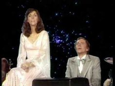 """Carpenters """"You're Just In Love"""" - such perfectly blended voices!"""