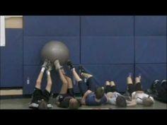 Onderwijs en zo voort ........: 3247. Gymactiviteiten : Geef samen de bal door