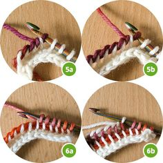 Crochet Patterns Tutorial Image for article 'Tunisian Crochet' 5 More Crochet Edging Patterns, Crochet Lace Edging, Loom Patterns, Tunisian Crochet, Crochet Yarn, Crochet Hooks, Crochet Pillow Cases, Crochet Dinosaur, Farm Crafts