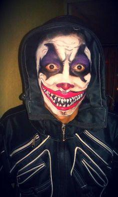 Maquillaje Payaso diabolico