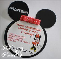 Festejar: Loja de Doces da Minnie - Convites