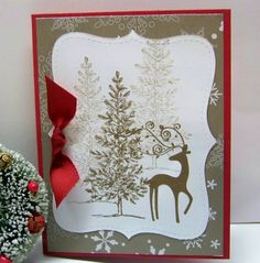 Lovely As A Tree & Dasher by doodlegirl2 - Cards and Paper Crafts at Splitcoaststampers