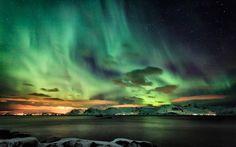 lofoten northern lights - Google Search