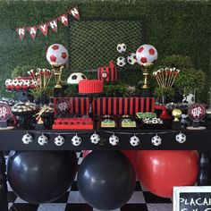 Festas e Eventos Corporativos Soccer Birthday Parties, Soccer Party, 12th Birthday, I Party, Baby Shower, Man Party, Birthday Party Boys, Sports Birthday, Boyfriend Birthday Gift