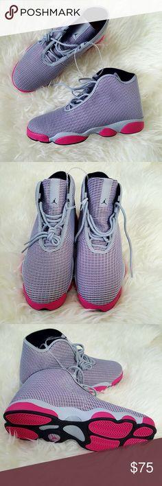 hot sale online 8f069 08396 NO BOX Jordan Horizon Pink Gray ADULT or YOUTH New Jordan Horizon in pink  and gray