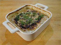 Janssonin kiusaus - Jansson's Temptaion (potatoes and anchovies in cream)