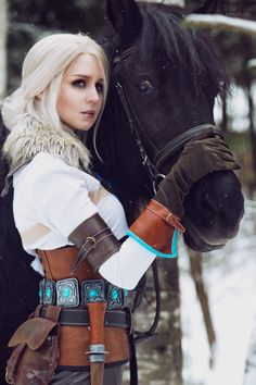 "jejosch: ""The Witcher 3: Wild Hunt - Ciri cosplay by ver1sa on @deviantart """